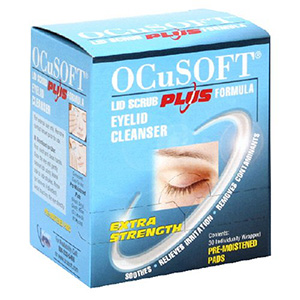 Ocusoft Eyelid Cleanser Extra Strength