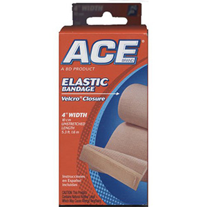 6 inch ace bandages with velcro